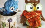 Амигуруми крючком: схемы кота и совы дня начинающих