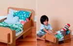 Кровати для кукол своими руками: из дерева, из картона и из коробки