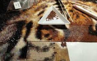 Вышивка стразами: сваровски, стразами и алмазная вышивка
