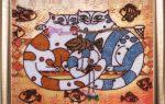 Вышивка бисером для начинающих: картины и техника вышивания для начинающих