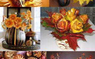 Экибана своими руками: делаем из искусственных цветов и из листьев
