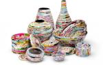 Газетное плетение корзины: мастер класс для начинающих и узоры ситцевого плетения для новичков