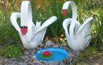 Сад своими руками: поделки из подручных материалов