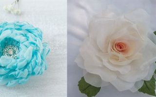 Цветы на платье из ткани своими руками: делаем украшение по мастер классу