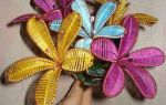 Цветок из ниток: видео-подборка прилагается