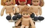 Волосы для куклы: мастер класс из атласной ленты и из ниток