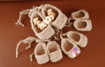Лапти своими руками: мастер класс из ткани и из ниток