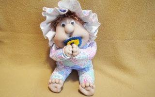 Кукла из чулка: мастер-класс пошагово для начинающих