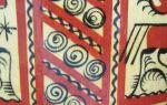 Мезенская роспись: мастер класс, поэтапное рисование и техника