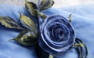 Мастер класс по валянию цветов из шерсти: мастер класс на каркасе для начинающих