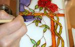 Витражи на стекле своими руками: трафареты, шаблоны и рисунки для росписи