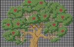 Дерево счастья своими руками: варианты вышивки крестом
