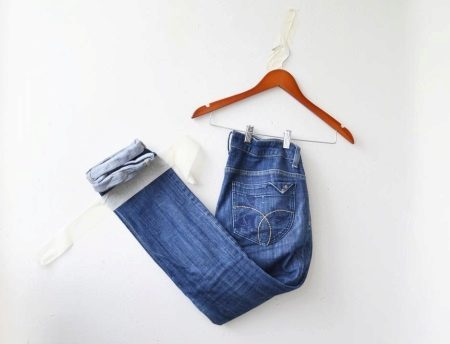 Юбка из джинсов своими руками: мастер класс с фото и выкройки для новичков