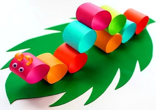 Поделки из бумаги для детей: варианты для 3 лет и для 7 лет с ...