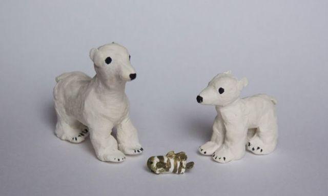Как сделать мультяшного медвежонка из пластилина: выполняем поделку по видео-подборке