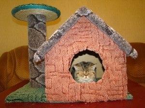Когтеточки для кошек своими руками пошагово: мастер класс и пошаговая инструкция