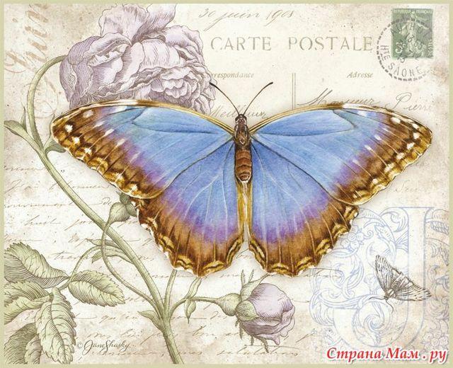 Картинки для декупажа: кухня, цветы, винтаж и ретро, розы шебби, кошки, бабочки
