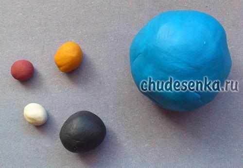 Энгри бёрдз из пластилина: мастер класс с фото