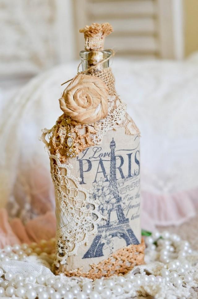 Бутылка, украшенная своими руками: конфетами, лентами и макаронами