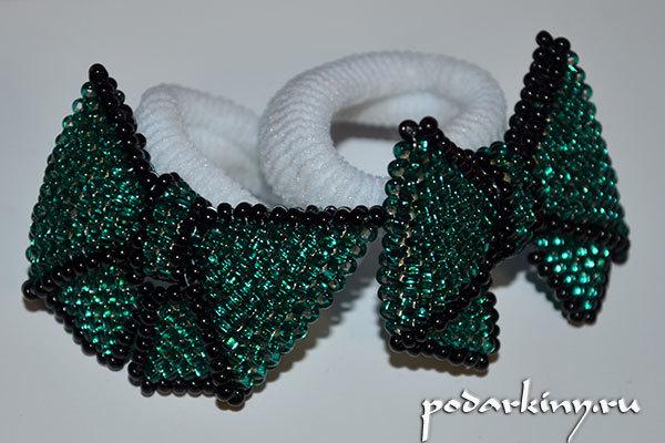 Бантик из бисера: мастер класс и схема плетения для начинающих
