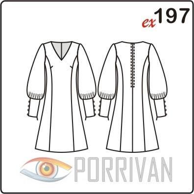 Выкройка прямого платья 46, 52 и 58 размера с фото-подборкой