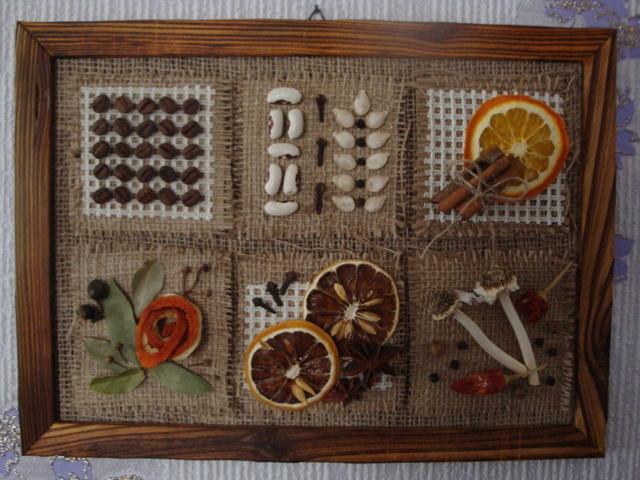 Панно для кухни своими руками: мастер класс из соленого теста и из круп