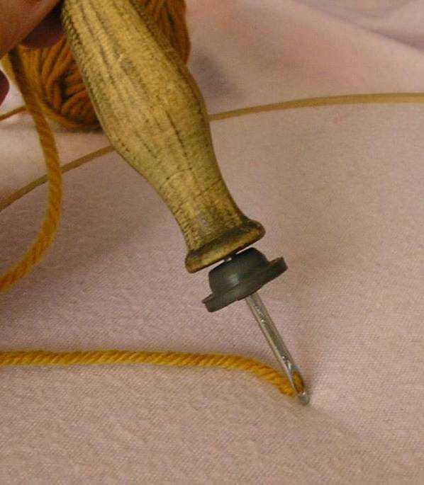Гобеленовый шов в вышивке: видео мастер класс