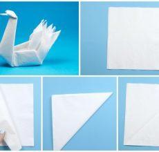 Лебедь из бумаги своими руками: мастер класс для детей с видео-подборкой