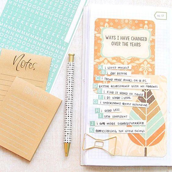 Оформление личного дневника внутри своими руками с фото: варианты для девочек