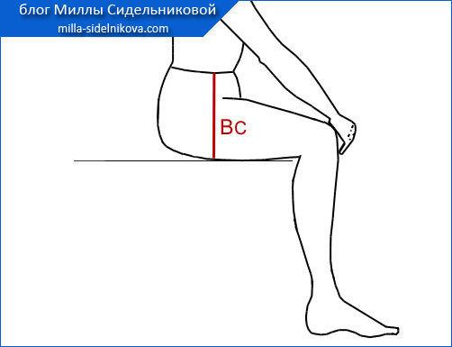 Выкройка женских брюк: построение и готовые модели различных брюк