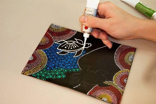 Роспись по стеклу для начинающих: эскизы, акриловая и точечная техника контурами
