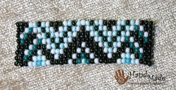 Мастер класс по диадеме из бисера: схема плетения пошагово