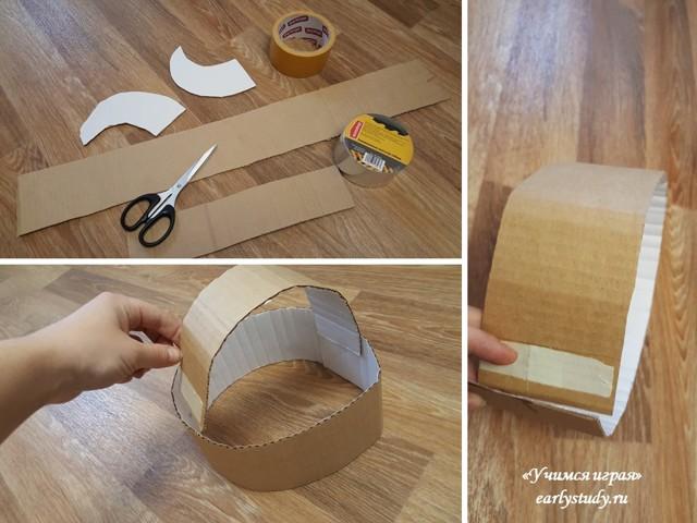 Шлем викинга своими руками: делаем из бумаги