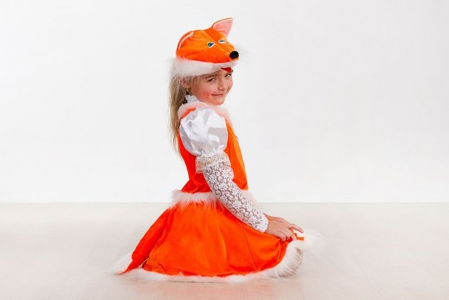 Пошить костюм Лисички для девочки, своими руками oblacco