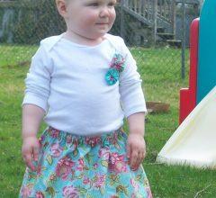 Юбки для девочек своими руками: выкройки с фото