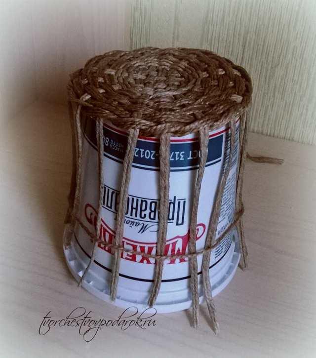 Плетение из шпагата для начинающих: схемы, идеи для интерьера и мастер класс корзины
