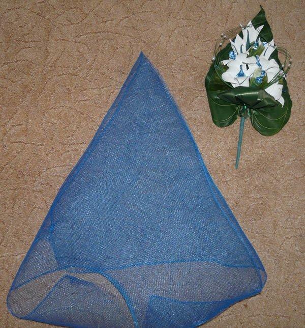 Лилии из гофрированной бумаги: делаем пошагово