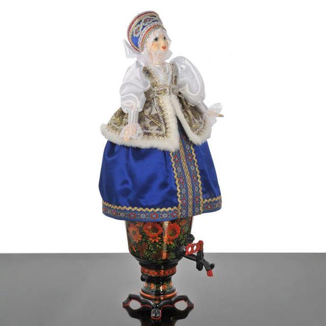 Баба на чайник: пошаговый мастер-класс и выкройка с фото