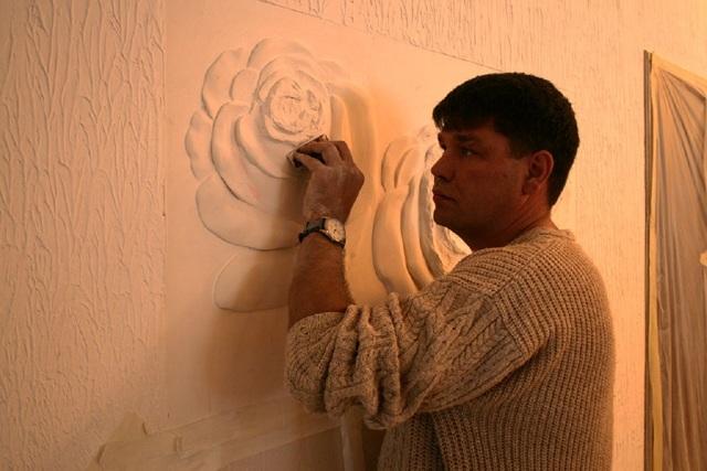 Панно из гипса на стену своими руками: мастер класс c фото