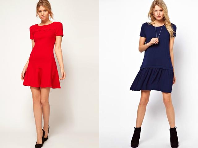 Платье клеш от лифа: выкройка с фото