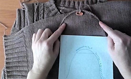 Как связать рукав спицами: пошаговая инструкция с фото и видео для начинающих
