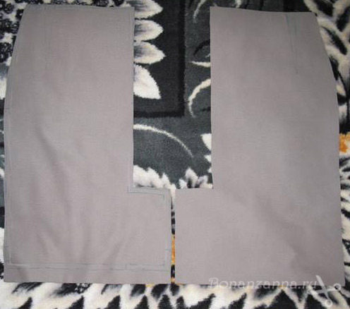 Обработка шлицы на юбке: делаем пошагово