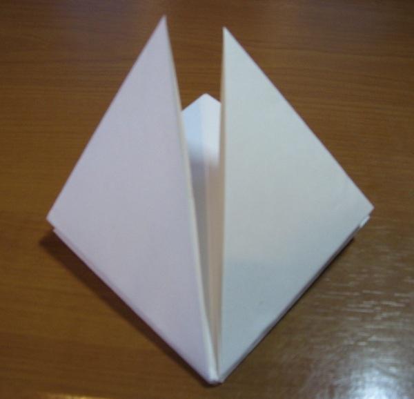 Цветы оригами из бумаги: схемы тюльпана, лилии, белого цветка с фото