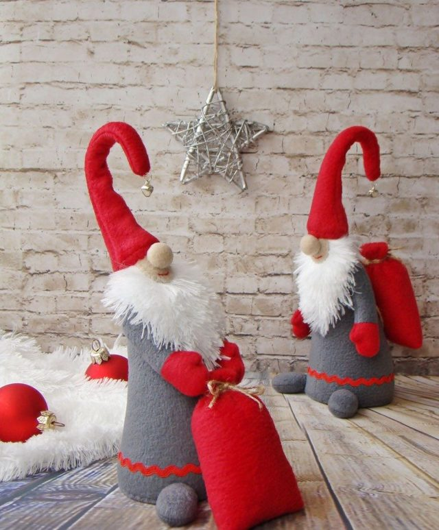 Башмачки для гнома с выкройками: делаем для новогоднего праздника своими руками