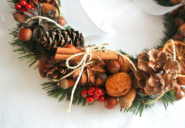 Новогодний венок из еловых веток своими руками - Поиск