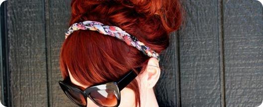 Обруч для волос своими руками: видео-подборка прилагается