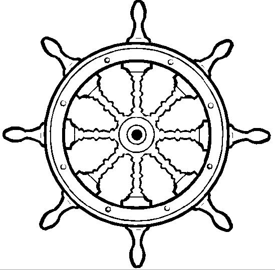 Штурвал корабля своими руками: мастер класс из картона и из дерева