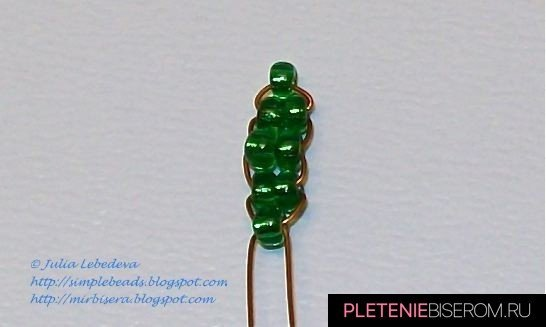 Схема плетения рябины из бисера: зимняя и осенняя рябина своими руками