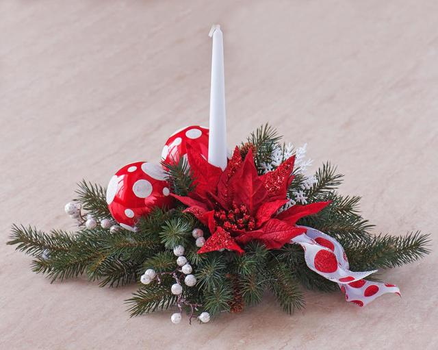 Поделка новогодний букет вместо елки: делаем с фото-подборкой