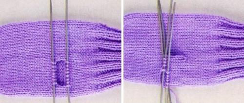 Варежки спицами для начинающих: делаем с жаккардовым узором и из мохера с узором